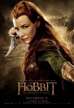 The Hobbit Evangeline Lilly poster