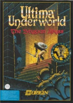 Ultima Underworld cover