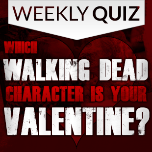 Walking Dead Valentines Quiz 3x3