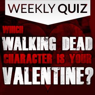Walking Dead Valentines Quiz 3x3