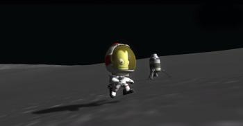 Kerbal Space Program On The Moon