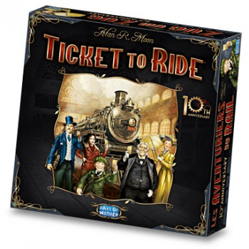 ticket to ride 10th anniversary box