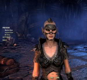 The Elder Scrolls Online Character Creation video