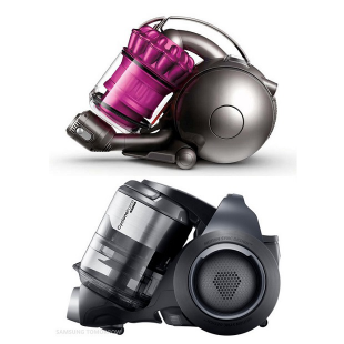 Samsung and Dyson Vacuums