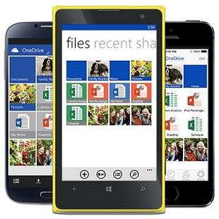 Microsoft OneDrive Smartphone