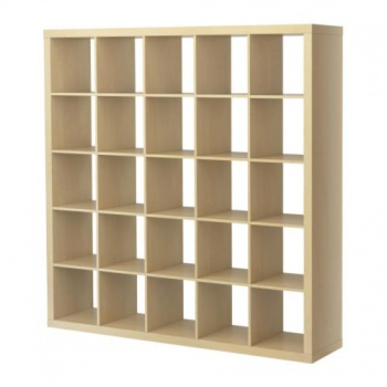 expedit shelving unit birch