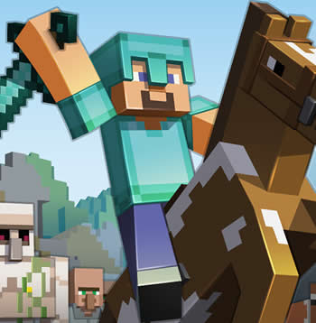 Minecraft Horse - Main