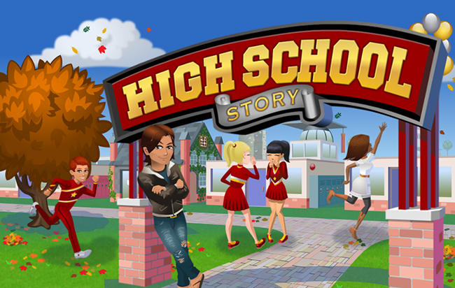 high-school-story