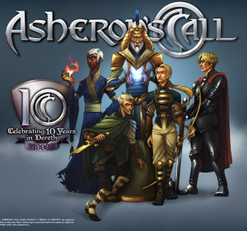 Asherons Call 10th anniversary wallpaper