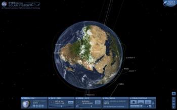 NASA Web App Lets You Roam The Solar System In D The Escapist - Solar system map 3d