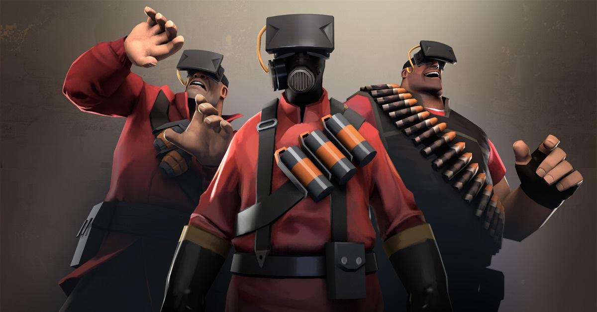 Team Fortress 2 Oculus Rift social