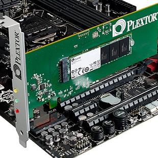 Plextor M6e PCIe SSD 310x