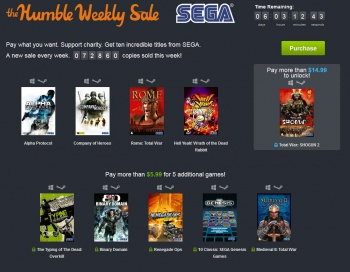 Sega Humble Bundle