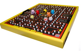 Pacman Table Game >> Pac Man Knockoff Board Game Is Ridiculous And Awesome