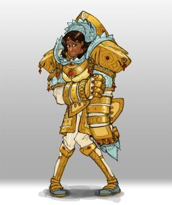 Lady knight 350