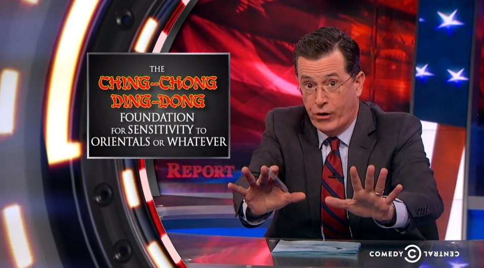 The colbert retort high definition the escapist for Farcical situation definition