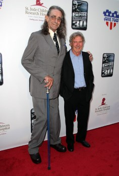 Peter Mayhew, Harrison Ford