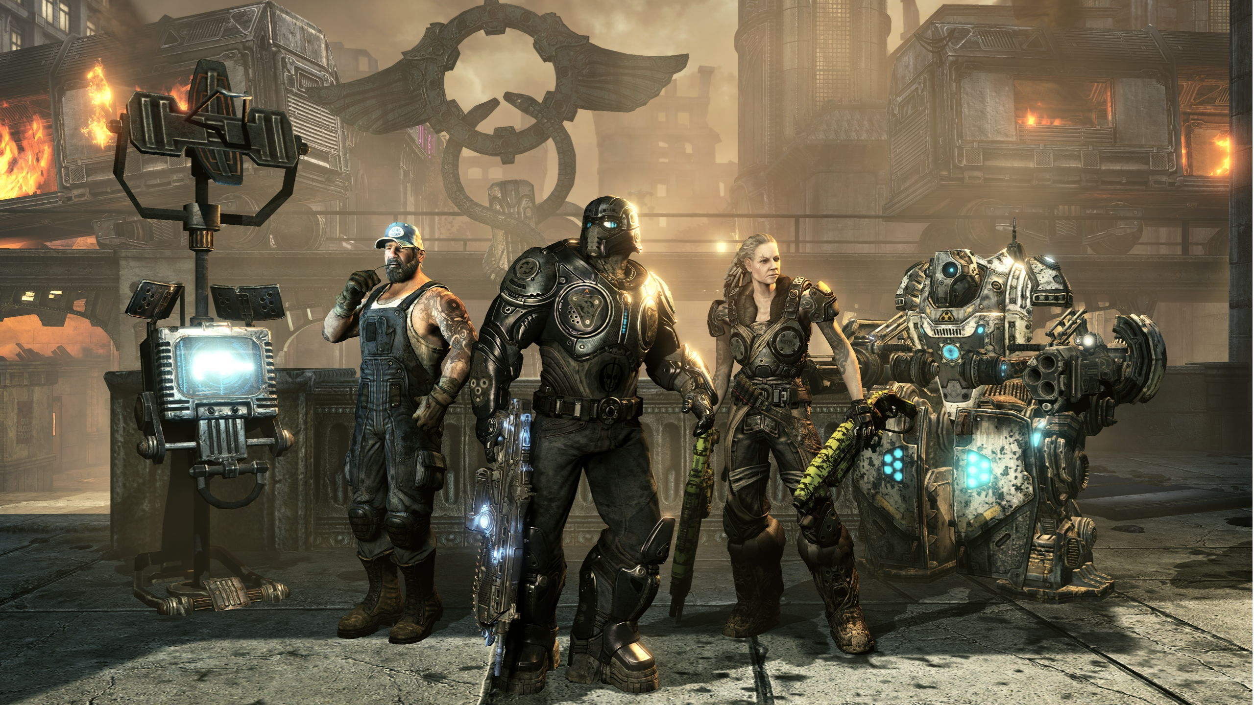Gears Of War 3's First DLC Pack Arrives Next Month