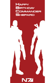 Happy Birthday Commander Shepard