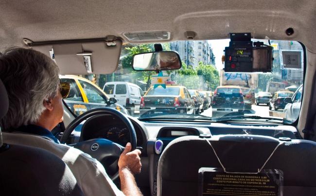 Taxi Riding Simulator