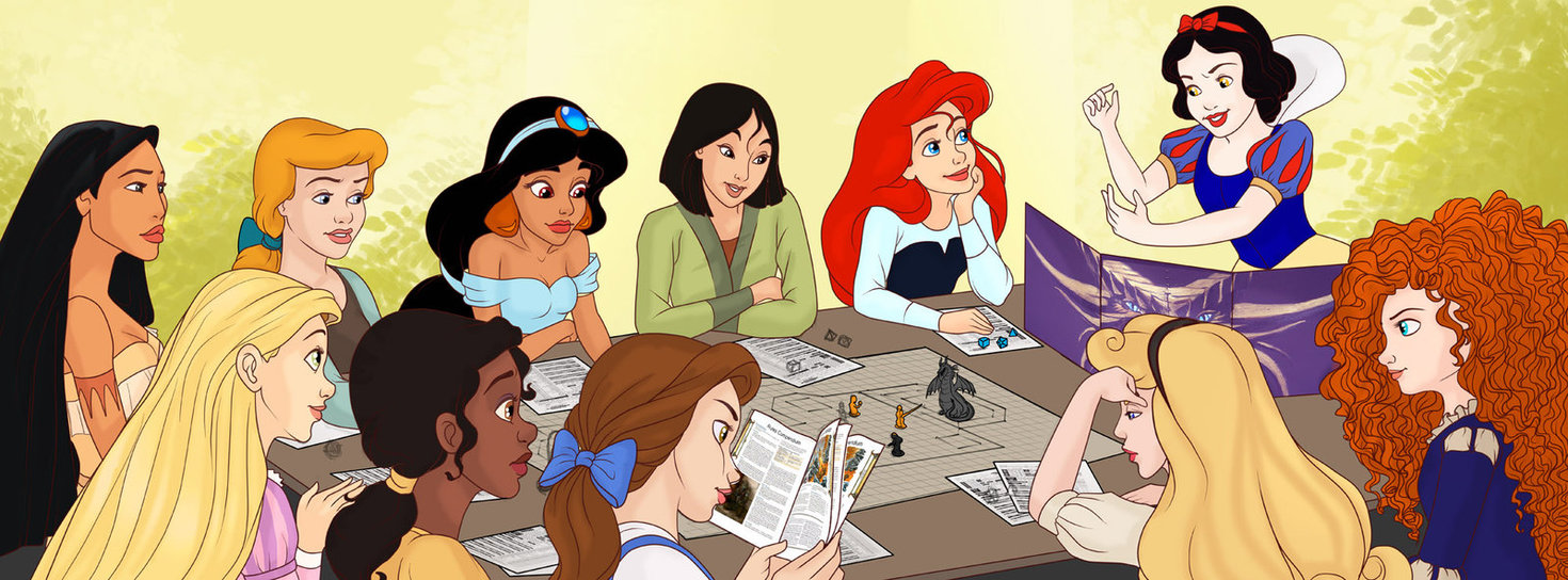Artist Envisions Disney Princesses as Dungeons amp Dragons  : 714244 from www.escapistmagazine.com size 1470 x 544 jpeg 248kB