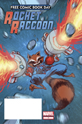 free comic book day rocket raccoon