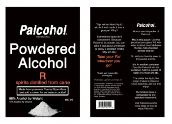 Palcohol - Powered Alcohol - Has Been Approved For Sale in The US