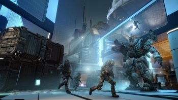 Titanfall War Games screen