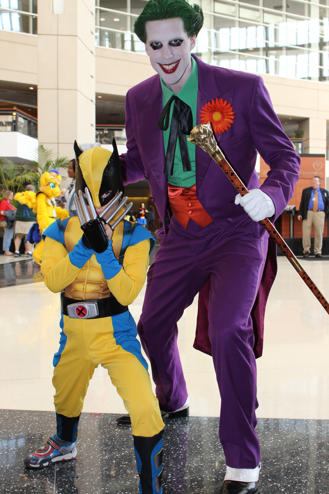 c2e2 joker and wolverine