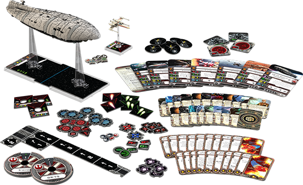 xwing miniatures rebel transport set