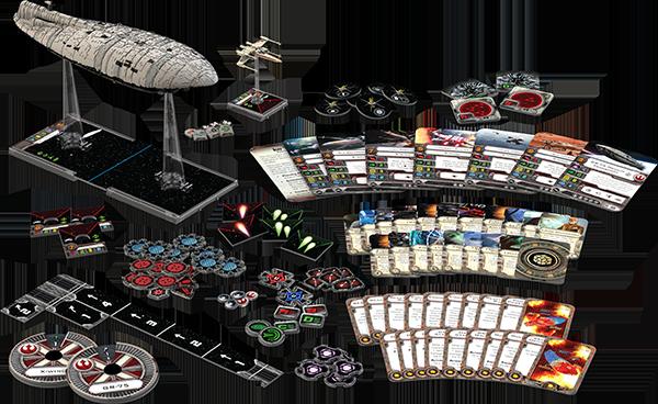 xwing miniatures rebel transport set