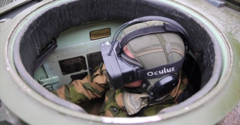 Oculus rift in tanks