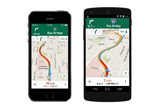 Google Maps Uber 310x