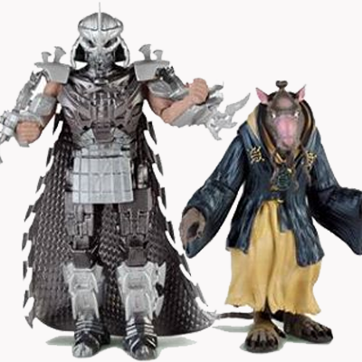 Tmnt Toys Reveal Splinter And The Shredder The Escapist