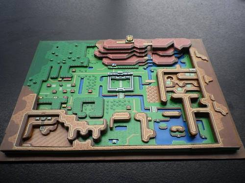 Zelda Diorama