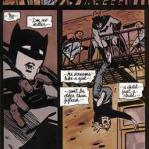 Batman Year One Panel