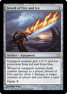 Sword of Fire and Ice card