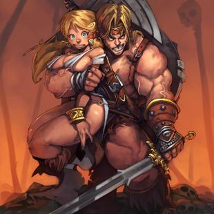 some Conan the Barbarian  Conan The Destroyer Throne