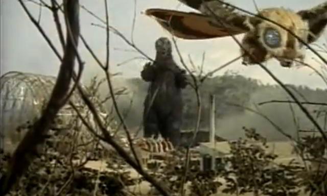gozilla v mothra