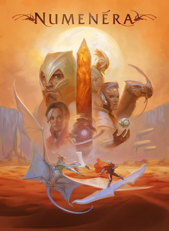 Numenera Core Rulebook Cover