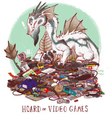 dragon hoard videogames 350