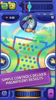 Free-to-play Peggle screen
