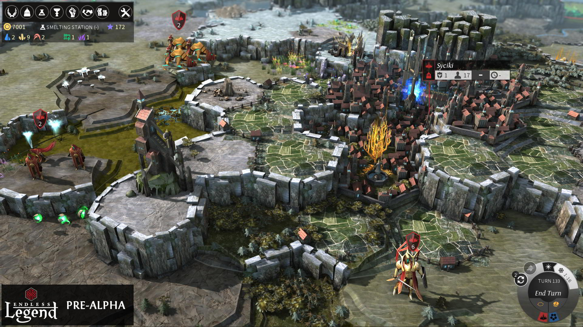 endless legend - broken lords fortress
