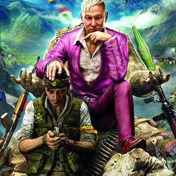 Far Cry 4 cover