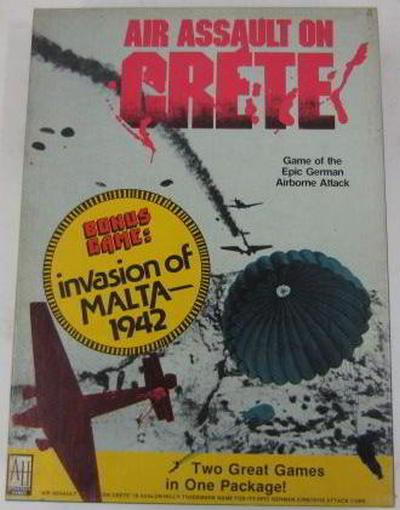 air assault on crete