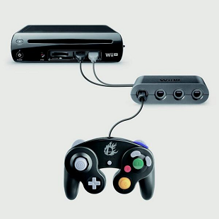 Nintendo Wii U GameCube Controller Adapter 310x