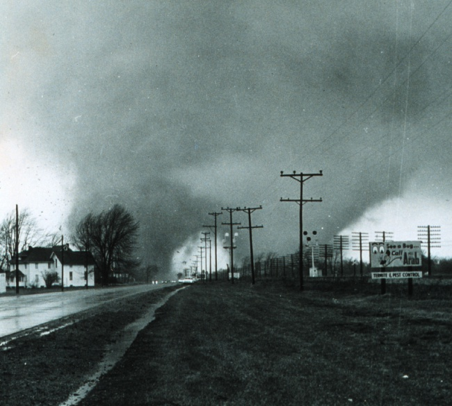 Palm Sunday Twin Tornadoes