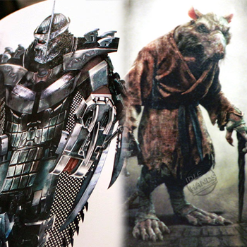 Tmnt Art Book Reveals New Splinter Shredder