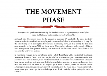 the movement phase