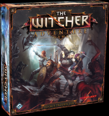 the witcher adventure game box
